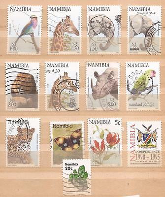 Namibia  -  Lot Of Stamps