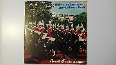 LP 33 giri THE POMP AND CIRCUMSTANCE OF THE REGIMENTAL BANDS