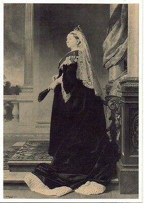 NPM Queen Victoria Unused PC Frontispiece for QV Collection