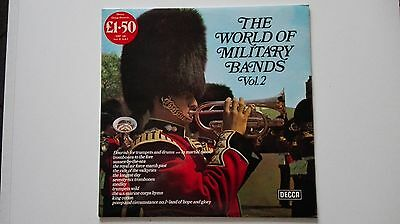LP 33 giri THE WORLD OF MILITARY BANDS VOL. 2