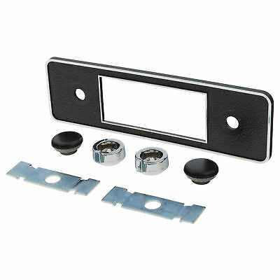 Retrosound Radio Blaupunkt Black Chrome Faceplate And Knob Kit 230-346