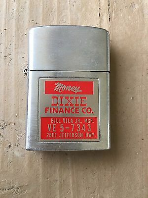 Vintage Alas Lighter Dixie Financial