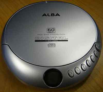ALBA Personal CD Player with Anti Skip Protection