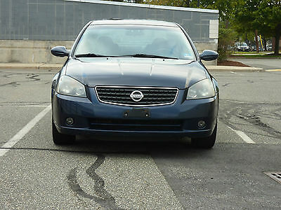 2006 Nissan Altima  2006 Nissan Altima SE Sedan 4-Door 3.5L