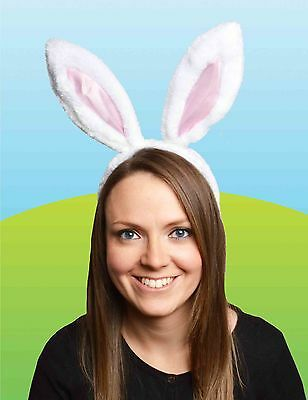 Easter Bunny Ears Headband - Easter Dress Up Party Bonnet Decorating Ideas