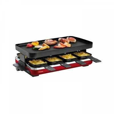 Trisa Raclette Supreme 8 schwarz/rot Raclette