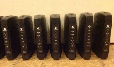 Lot 7 Motorola Surfboard Cable Modem  Sb5101 Tested 100% No Adapter Free Dlv