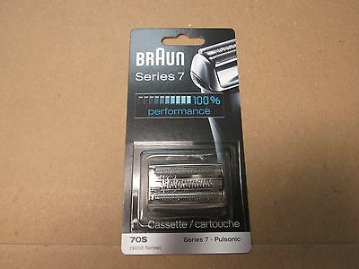 BRAUN 70s Series 7 Pulsonic 9000 Series Shaver head Cassette Replacement Pack