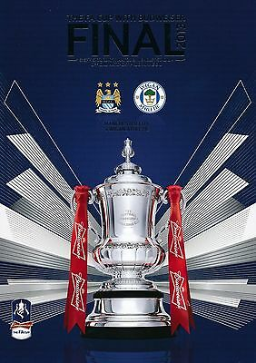 FA CUP FINAL 2013: Manchester City v Wigan Athletic programme