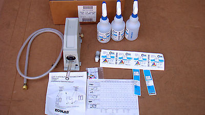 Ecolab OASIS II 255SF Glass Cleaner Dispenser 92151364 w/ Instructions MPS182908
