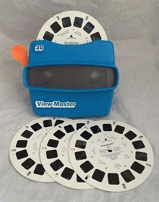 View master Graceland 3 Reels + 1 Reel Spectacular Scenic Attractions