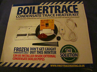BoilerTrace Condensate trace Heater kit 8m TO PREVENT CONDENSATE PIPE FREEZING