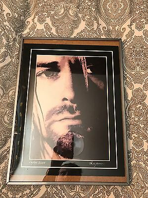 Nirvana, kurt Cobain A4 Limited Edition Numbered Picture
