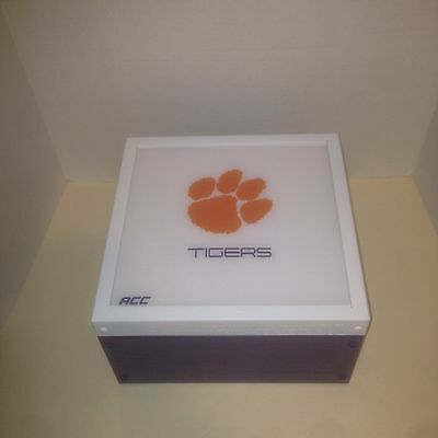 Clemson Tigers custom card storage case For Magnetics/top Loaders