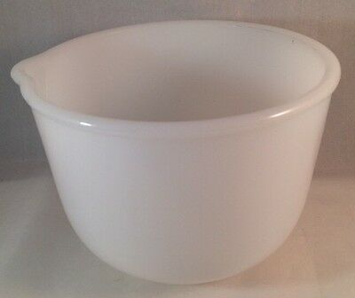 Sunbeam Mixing Bowl Vintage Small Glasbake White Milk Glass Replacement