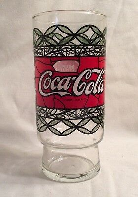 VINTAGE Coca Cola Dairy Queen collectible juice drinking glass