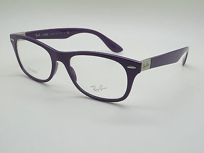 NEW Authentic Ray Ban RB 7032 5437 LITEFORCE Purple 52mm RX Eyeglasses