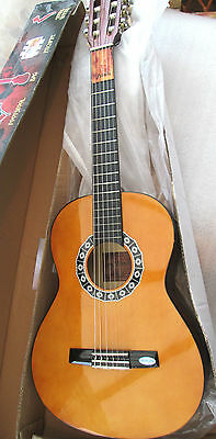 Valencia 3/4 Classical Guitar with accessories