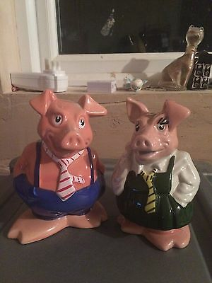 Wade Natwest Pigs - Maxwell and Annabel - No Stoppers