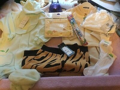 Bundle boys clothes and accessories age 6-9 & 6-12 months New .