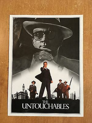 The Untouchables Movie Flyer