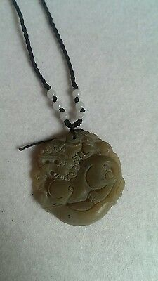 Antique chinese jade pendant