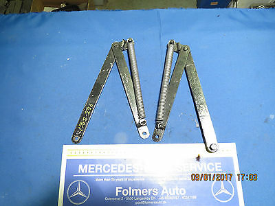 Mercedes original tailgate holder hinges with springs170S W136 220 W187