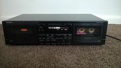 Denon DRW-830 Stereo Double Cassette Tape Deck with Auto reverse