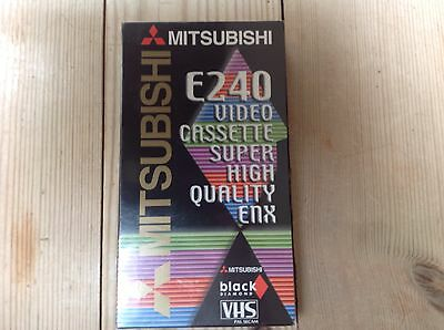 New & Sealed Mitsubishi E240 VHS BLANK Video Cassette Super High Quality Enx