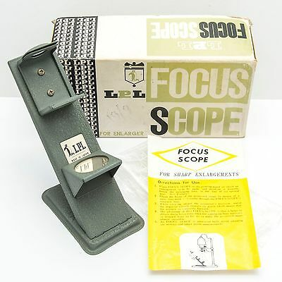 LPL Focus Scope Finder for Sharp Enlargements **BOXED WITH INSTRUCTIONS** CHEAP!