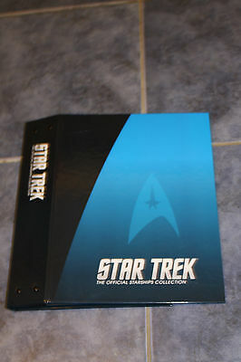 Star Trek  Eaglemoss Ships Magazine Binder New