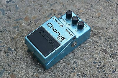 1985 Boss CE-3 Stereo Chorus MIJ Vintage Effects Pedal