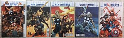 Ultimate New Ultimates complete series #1 - #5 (2010 Marvel)