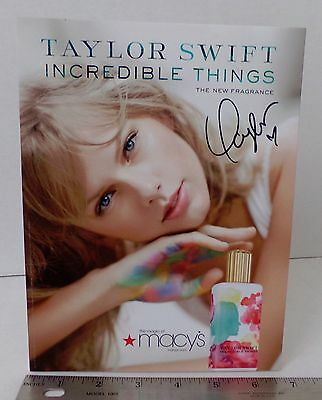 Taylor Swift / Wonderful Things / Glossy Slick / Counter Top Standee Promo #3