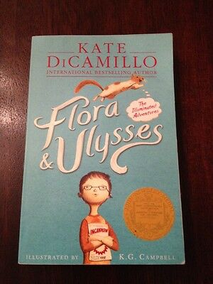 Flora & Ulysses: The Illuminated Adventures by Kate DiCamillo (Paperback, 2014)