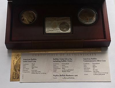 2010 US 5th Anniversary Premium Buffalo Gold Proof Set - Stunning!