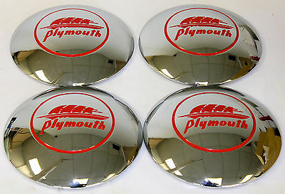 1941-1942 Plymouth Hubcaps