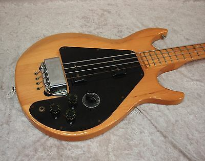 1973/1974 USA Gibson Ripper bass guitar in natural finish with case