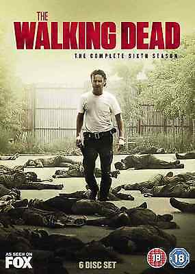 The Walking Dead Season 6 Brand New Sealed Complete Box Set Region 2 Dvd
