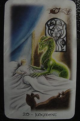 20-Judgement The Celtic Dragon Tarot Single Replacement Card Excellent