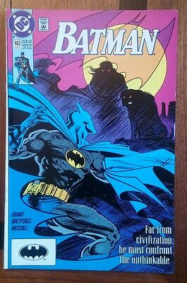 Batman 463 VF DC comic