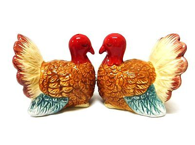 Turkey Magnetic Ceramic Salt And Pepper Shakers