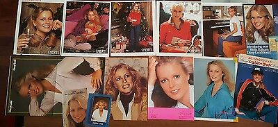 Cheryl Ladd HUGE CLIPPINGS LOT - 37 CLIPPINGS