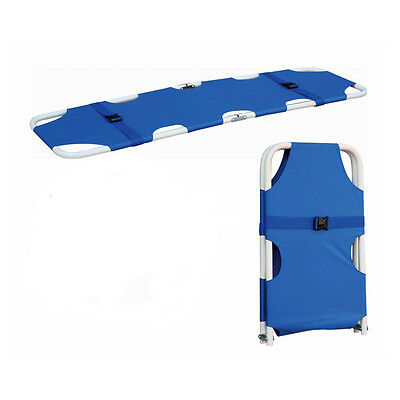 High Quality Blue Buy Outdoor Foldable Medical Rescue Patient Stretcher SP92