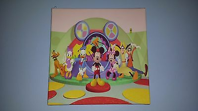 """Mickey Mouse Clubhouse 12""""x12"""" Canvas"""