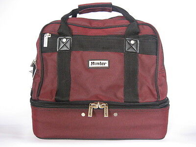 Traditional Style Maroon Two Tone 4-Bowls Carry Bag GREAT BAG AT A GREAT PRICE