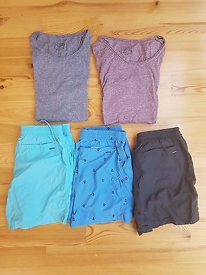 Bulk YD Mens Clothes for Sale, Shirts and Shorts Size M or 32 RRP over $100
