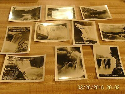 10 Vintage Photographs of Cumberland Falls Ky Black and White 40's