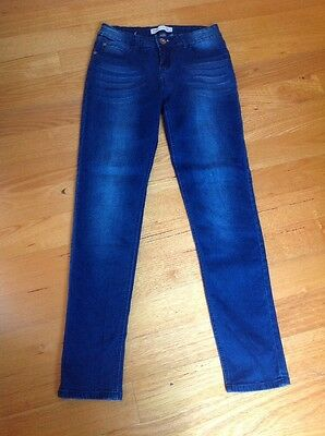 Never Worn Cotton On High Waisted Blue Denim Jeans Size 12