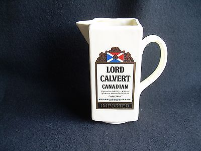 LORD CALVERT PITCHER Canadian Whiskey Advertising